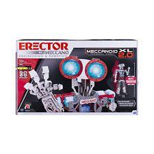 Meccano Erector Robot Building Kit Led Eyes Light Stem Education Kids Gift Toy
