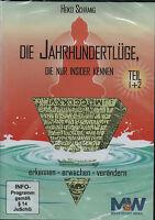 DIE JAHRHUNDERTLÜGE 1+2 - Heiko Schrang - 2 x DVD SET