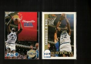 2 items  SHAQUILLE O'NEAL rc 1992 93  SKYBOX  HOOPS  magic rookie  #442  #382