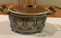 Vintage Royal Rochester Caserole Dish With Holder