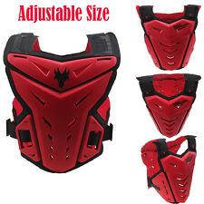 ATV Dirt Bike Motocross Motorcycle Body Armor Vest Chest Red Protector Guard