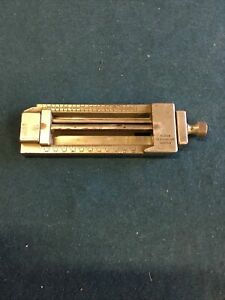 "Ludlow Composing Stick 1 1/4"" Diameter  Printing Hot Lead"
