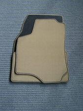 $$$ Fußmatten passend für Opel Astra G OPC + BEIGE +  DeLuxe Velours + NEU $$$