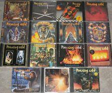 RUNNING WILD ? Sammlung, Paket ? 14 Alben, 1 Maxi, 15 CDs