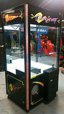 CLEAN SWEEP Crane Claw Machine ARCADE! Larger Black Model CleanSweep#3
