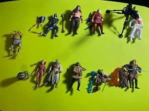 Star Wars Hasbro & Kenner Various Action Figures Lot Of 10 - 1990's