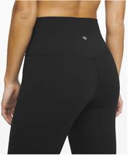 "Lululemon Align Pant Size 6 Black Nulu Inseam 25"" High Waist"