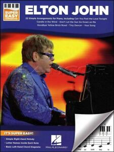 Elton John Super Easy Songbook for Keyboard Sheet Music Book SAME DAY DISPATCH