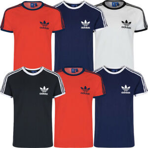 Adidas Mens Originals T-Shirt T Shirt Tee Essentials Cotton Crew Tops TShirt