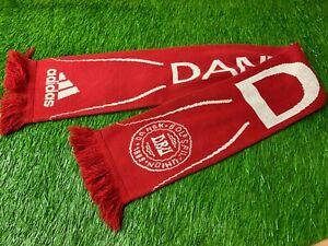 DENMARK NATIONAL TEAM 2006/2008 FOOTBALL SOCCER FAN SCARF ADIDAS ORIGINAL