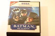 SEGA MASTER SYSTEM BATMAN RETURNS BY SEGA 1993