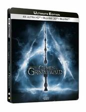 blu ray version cinema les CRIMES DE GRINDELWALD STEELBOOK.
