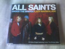 ALL SAINTS - UNDER THE BRIDGE / LADY MARMALADE - 5 TRACK CD SINGLE