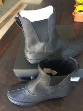 Ugg Mens Romosa Waterproof  Rain Boot Black Size 12..New WITH  BOX