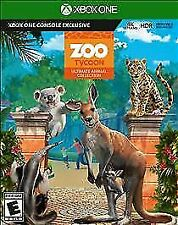 Zoo Tycoon: Ultimate Animal Collection (Microsoft Xbox One, 2017)