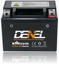 【】GTX4L-BS Nano Gel AGM Motorcycle Battery 100 CCA YTX4L-BS RTX4L-BS