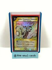 Duel Masters Card - Syrius, Firmament Elemental - DM-05, English, NM, Super Rare