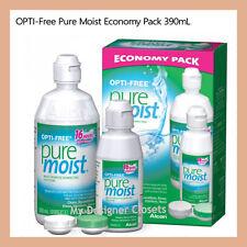 OPTI-Free Pure Moist Economy Pack Multi Purpose Solution 390mL Contact Lens MDC