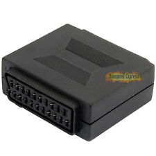 21 pin SCART Coupler Joiner Adapter Female to Female F/F Sockets Joint Connector