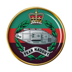 Royal Tank Regiment, British Army Pin Badge