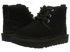 Toddler UGG Neumel II Boot Suede Upper 1017320T Black 100% Authentic Brand New