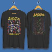 Exodus Fabulous Disaster 1989 vintage tour T-Shirt New Adult