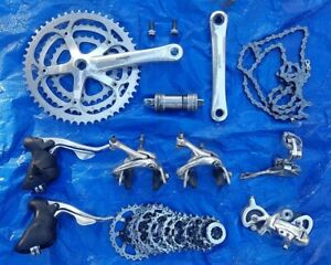 Campagnolo 9 speed Racing T Triple Group Veloce levers brakes derailleur