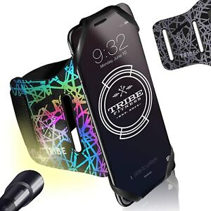 Reflective Running Phone Holder Sports Armband. iPhone Cellphone Workout Band