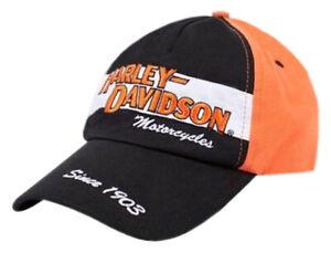 Harley-Davidson Big Boys' Baseball Cap, Youth H-D Prestige Twill Hat 0280282