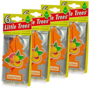 Little Trees Cardboard Hanging Car, Home & Office Air Freshener, Peachy peach-24