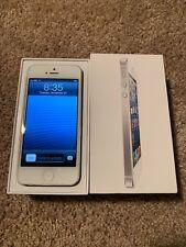 RARE - Apple iPhone 5 - 16GB - White (Verizon) iOS 6.1.3