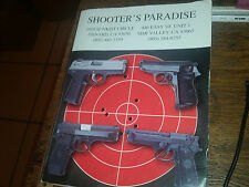 Shooter's Paradise Catalog Softcover Guns Ammo and Much More