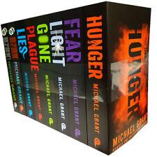 Michael Grant Hunger, Fear,Light,Gone,Plague, Lies 9 Books Collection Set NEW