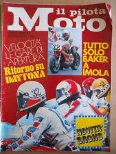 IL PILOTA MOTO n°6 1976 - Buscherini Lucchinelli Yamaha 250 Diemme   [P66]