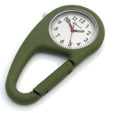 Ravel Clip Mosquetón Reloj Senderismo Camping Bolso Encanto Verde R1105.11
