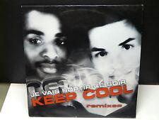 """MAXI 12"""" KEEP COOL Je vais sortir ce soir Remixes DAN6696448"""