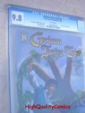 GRIMM FAIRY TALES 8, Jack , CGC 9.8, NM/M , and the Beanstalk, Giant, Golden Egg