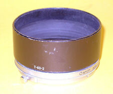 Canon Hood T-60-2 Metal Lens Shade in good condition