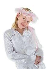 Princess Fairy Birthday Satin Angel Feather Enchantress Headband Hat Adult Kids
