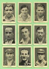 SET OF 1928 ENGLAND'S TEST MATCH CRICKETERS CRICKET CARDS