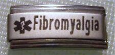 9mm Classic Size Italian Charm Superlink Medical Alert L101 Fibromyalgia