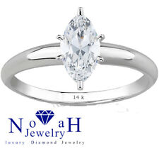 5.03 ct Marquise Cut Diamond Ring Color H/SI2 14K Gold HRD Certified Best Model