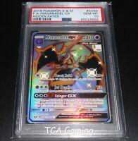 PSA 10 GEM MINT Naganadel GX SV63/SV94 SM Hidden Fates SHINY HOLO Pokemon Card