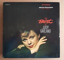 JUDY GARLAND *Best of Judy Garland*Orig Vintage DECCA-MCA2-4003-DG- 2 LP's