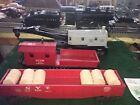 Lionel Vintage 1615 0-4-0 Switcher Set 1958 Gray Crane Red Gon All Red Wrk Cbse.