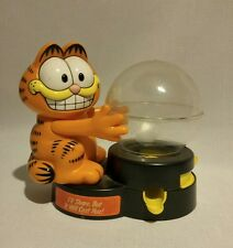 Vintage Garfield Bubble Gum candy toy gumball Machine and coin bank