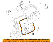 Buick GM OEM 02-07 Rendezvous Lift Gate-Weatherstrip Seal 10350444