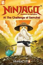 Ninjago: The Challenge of Samukai 1 by Greg Farshtey (2011, Hardcover)