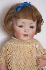 """perruque blonde POUPON-T24/25cm-poupée ancienne-moderne-doll wig head sz9.5/10"""""""