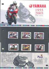 Isle of Man Yamaha Motorcycles set & presentation Pack-mnh-2005
